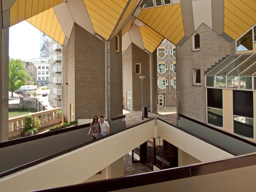 Kubuswoningen for Archi interieur rotterdam
